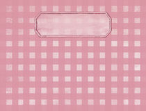Pink/mauve Checkerd Background - Text Area Royalty Free Stock Image