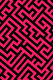 Pink maze background stock illustration