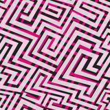 Pink maze seamless texture Stock Photo