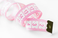 Pink measure Stock Photo