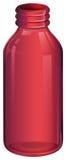 A pink medicine bottle Stock Photo