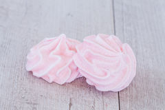 Pink Meringue Stock Images