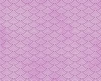 Pink Repeating Playful Mermaid Fish Scale Pattern Stock Photo