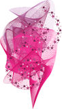 Pink mesh Royalty Free Stock Photography