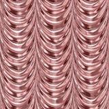 Pink metal drapery curtain seamless Stock Image