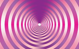 Pink metallic abstract background with concentric circles. Abstract pink background with the metallic texture of pink and purple in concentric circles. targets vector illustration