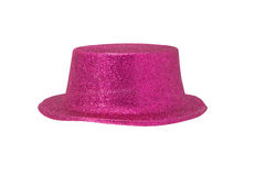 Pink Metallic Hat Royalty Free Stock Image