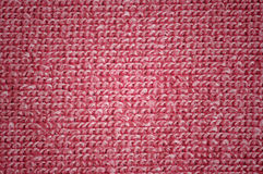 Pink microfiber texture Stock Images