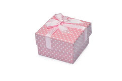 Pink mini gift-box Royalty Free Stock Photo