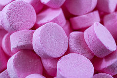 Pink mints Stock Photos