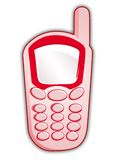 Pink mobile Royalty Free Stock Photos