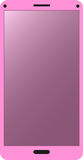 Pink mobile phone Royalty Free Stock Images