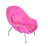 Pink Modern Chair Royalty Free Stock Photos
