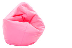 Pink modern sofa Stock Photography