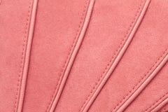 Pink moleskin Stock Image