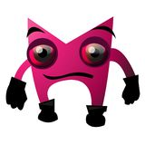 Pink monster Stock Photography
