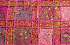 Pink Moroccan pillow Stock Image