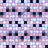 Pink mosaic background - vector Royalty Free Stock Photography
