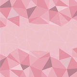 Pink Mosaic Background, Vector illustration Royalty Free Stock Images