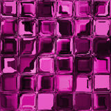 Pink mosaic glass window seamless. Generated stock illustration