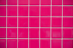 Pink Mosaic Tiles Texture Royalty Free Stock Images