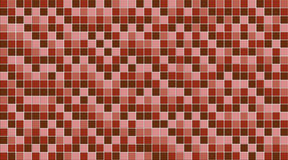 A pink mosaic wall Stock Images