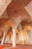 Pink Mosque or also Nasir al-Mulk. Stock Image