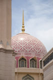 Pink mosque, putrajaya Royalty Free Stock Photo