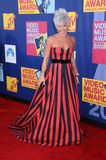 Pink. At the 2008 MTV Video Music Awards. Paramount Pictures Studios, Los Angeles, CA. 09-07-08 Royalty Free Stock Image