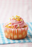 Pink muffin Stock Image
