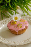 Pink Muffin Royalty Free Stock Images