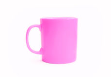 Pink mug Royalty Free Stock Images