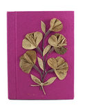 Pink Mulberry Paper Note Book. Mulberry Paper Note Book handmade royalty free stock images