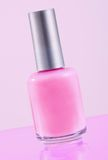 Pink Nail Polish Royalty Free Stock Images
