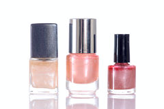 Pink nailpolish Stock Photography