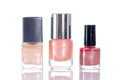 Pink nailpolish Stock Photography