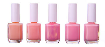 Pink  nailpolish se Stock Photo