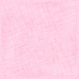 Pink Natural Cotton Fabric. Textile Background Stock Images