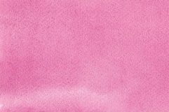 Pink natural handmade aquarelle watercolours paint texture pattern, horizontal textured watercolor paper painting macro closeup. Painted copy space background stock photography
