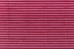 Pink natural lath wall pattern backdrop Royalty Free Stock Photography