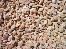 Pink natural stones, Lithuania Royalty Free Stock Images
