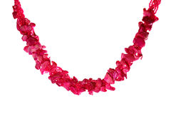 Pink Necklace Royalty Free Stock Images