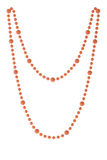 Pink necklace Royalty Free Stock Photo
