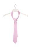 Pink necktie Stock Photo