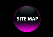 Pink neon buttom site map Stock Photo