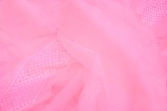 Pink netting. Shot of colorful pink netting Royalty Free Stock Photo