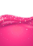 Pink New Year abstract background Royalty Free Stock Photography