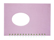Pink Notebook. Royalty Free Stock Photo