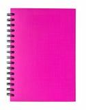 Pink notebook Stock Photos