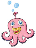 Pink octopus Stock Photo